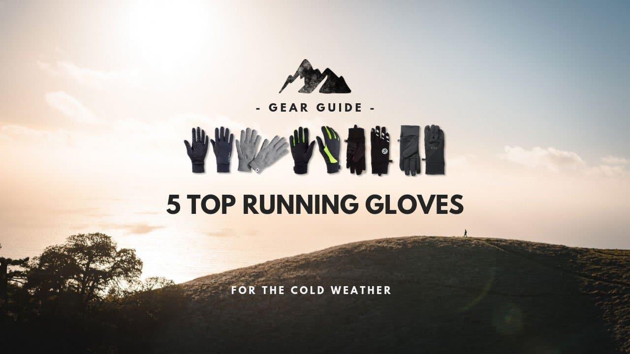 best running gloves web SG opti