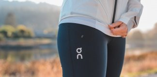 on running tights review Trail Kale leggings compression