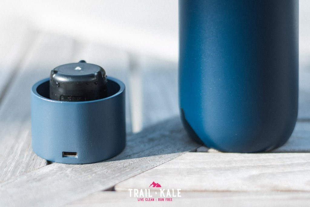 LARQ Bottle review self cleaning water bottle adventure lifestyle Trail and Kale wm 12