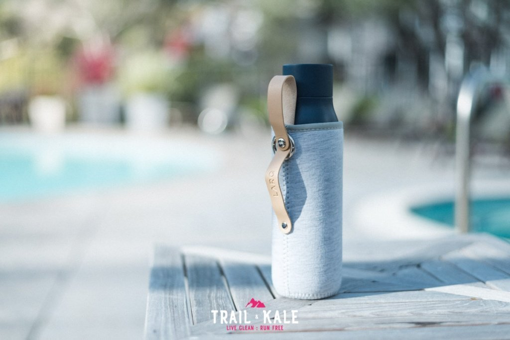 LARQ Bottle review self cleaning water bottle adventure lifestyle Trail and Kale wm 9