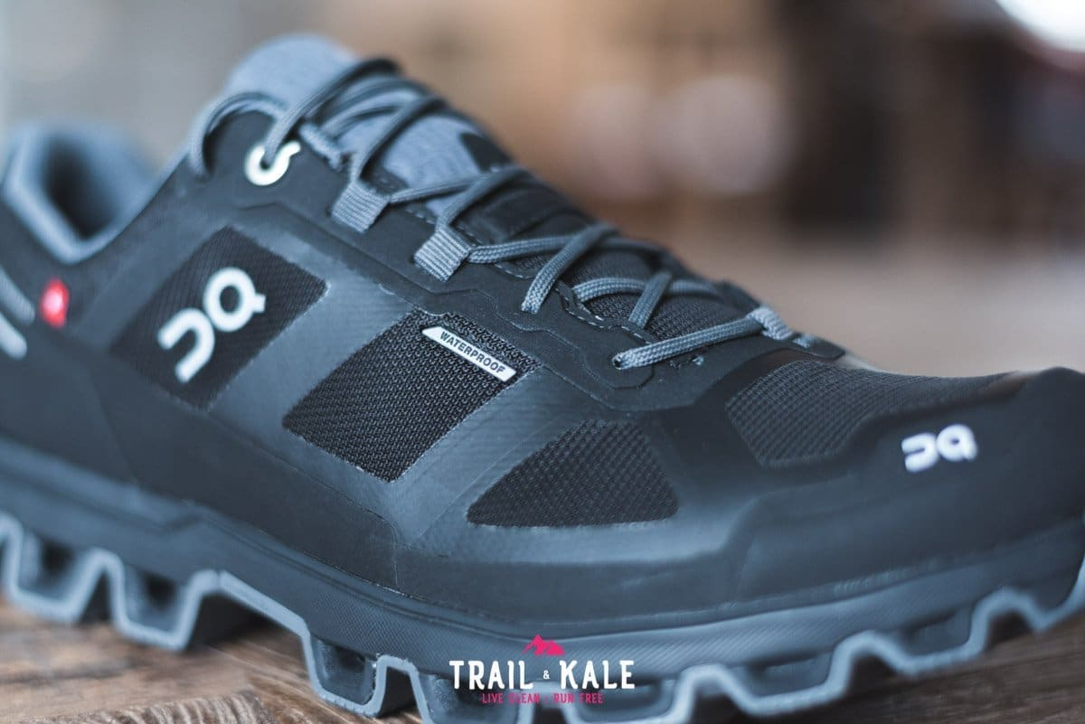 On Cloudventure Waterproof review 2019 Trail Kale trail running web wm 12