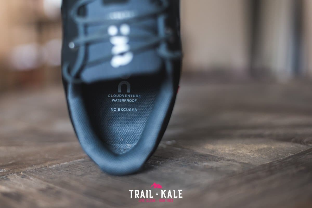 On Cloudventure Waterproof review 2019 Trail Kale trail running web wm 13