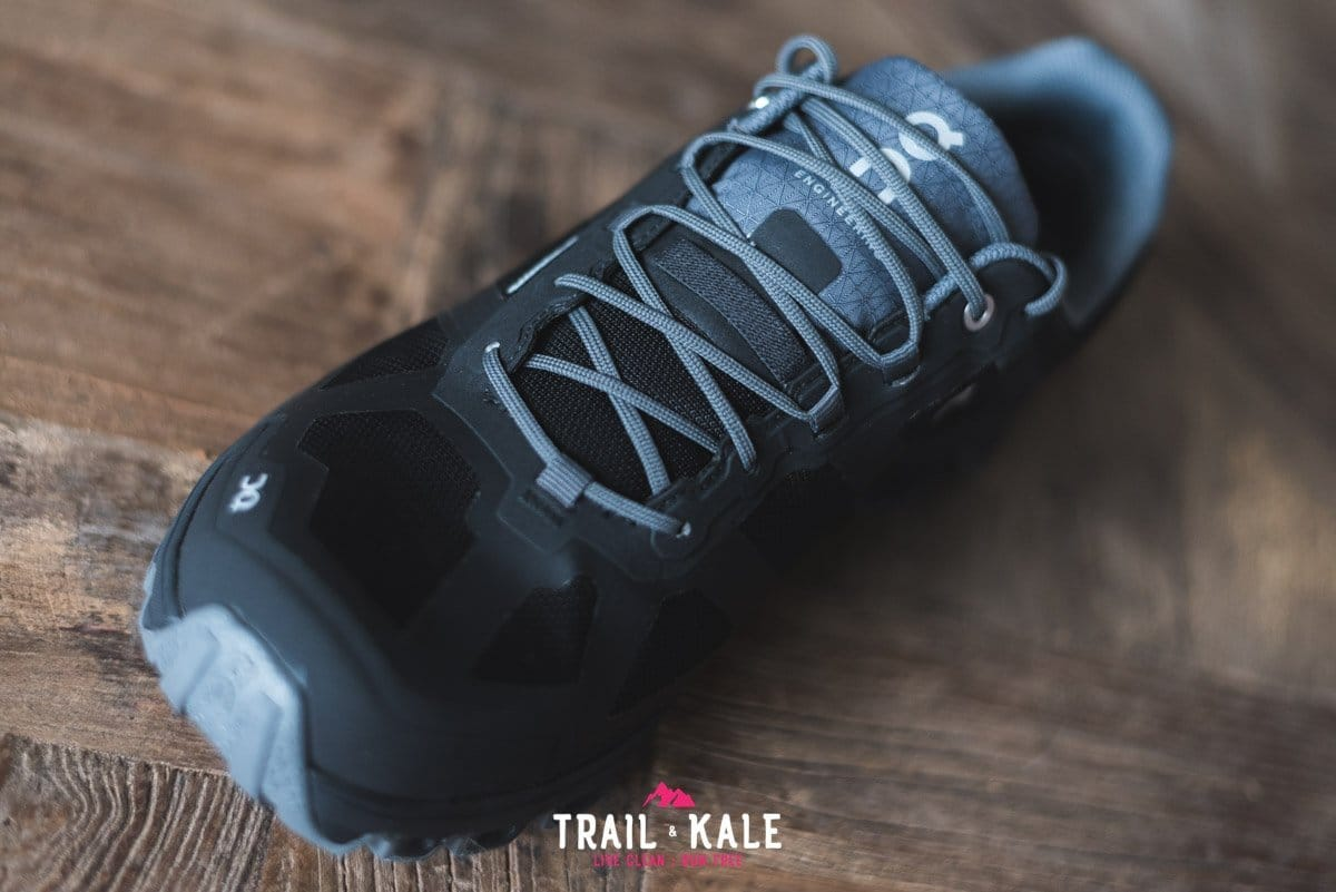 On Cloudventure Waterproof review 2019 Trail Kale trail running web wm 14