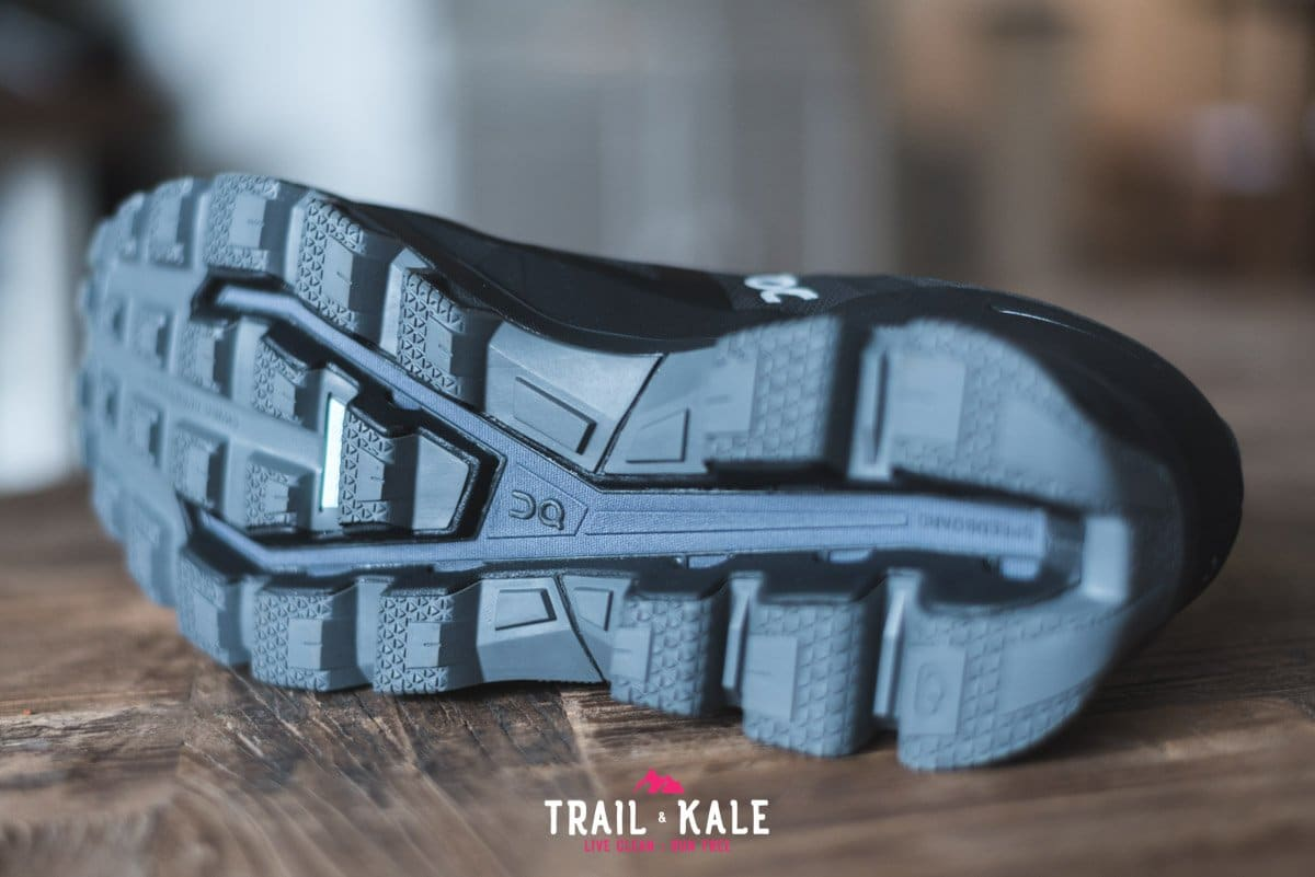 On Cloudventure Waterproof review 2019 Trail Kale trail running web wm 16