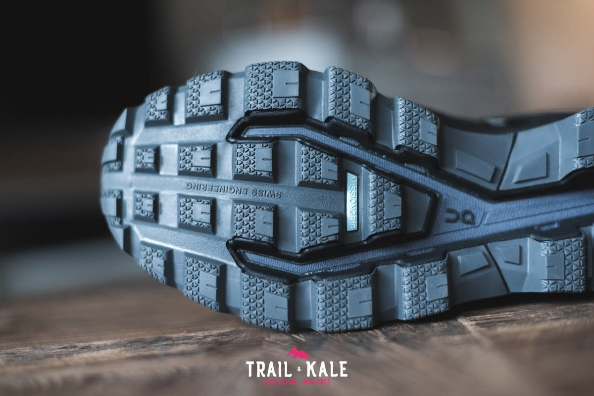 On Cloudventure Waterproof review 2019 Trail Kale trail running web wm 17