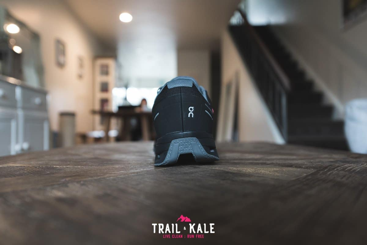 On Cloudventure Waterproof review 2019 Trail Kale trail running web wm 5