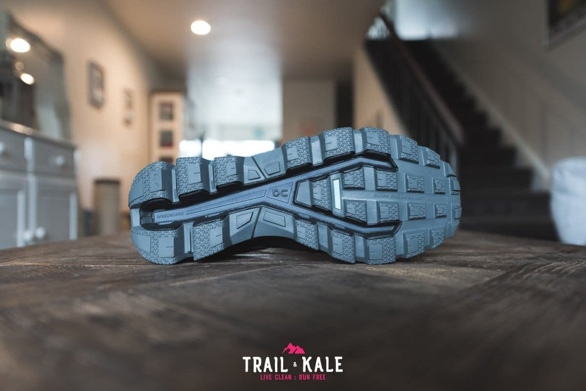 On Cloudventure Waterproof review 2019 Trail Kale trail running web wm 7