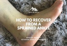 How to recover from a sprained ankle trail running trail and kale min