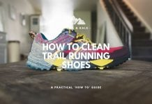 how to clean trail running shoes trail and kale min