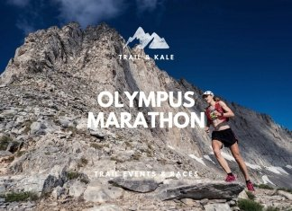 trail running races events Olympus Marathon trail and kale min