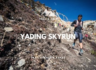 trail running races events Yading Skyrun trail and kale min