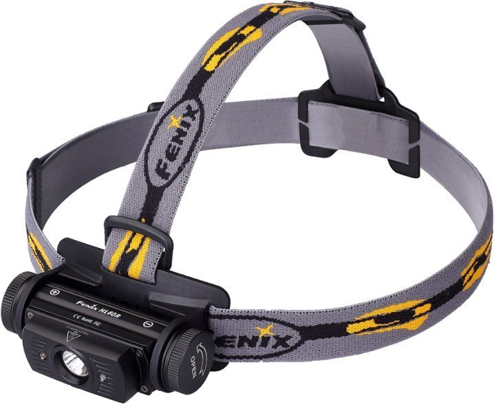 Fenix HL60R Rechargeable Headlamp best headlamp for trail running trail and kale