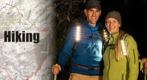 Kogalla RA hiking best headlamp for trail running trail and kale