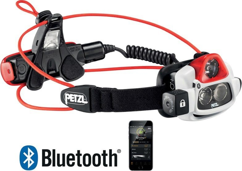 Petzl NAO Headlamp best headlamp for trail running trail and kale