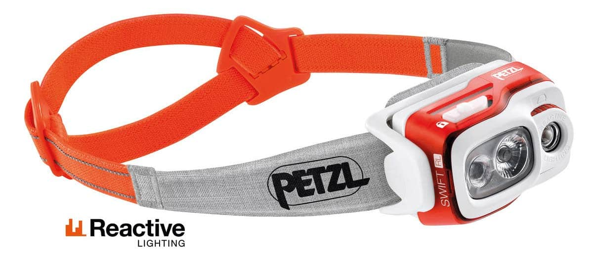 Petzl SWIFT RL best headlamps for running trail and kale