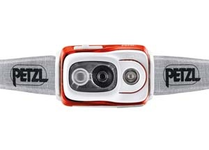 Petzl SWIFT RL front image small best headlamps for running trail and kale