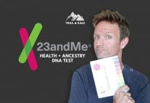 23andMe health Ancestry DNA test review trail and kale