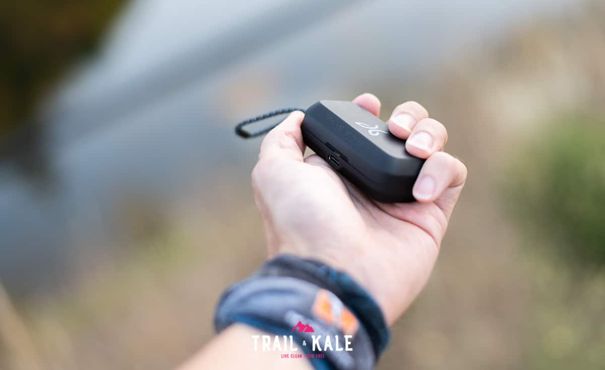 Jaybird VISTA wireless headphones review trail running trail and kale wm 23