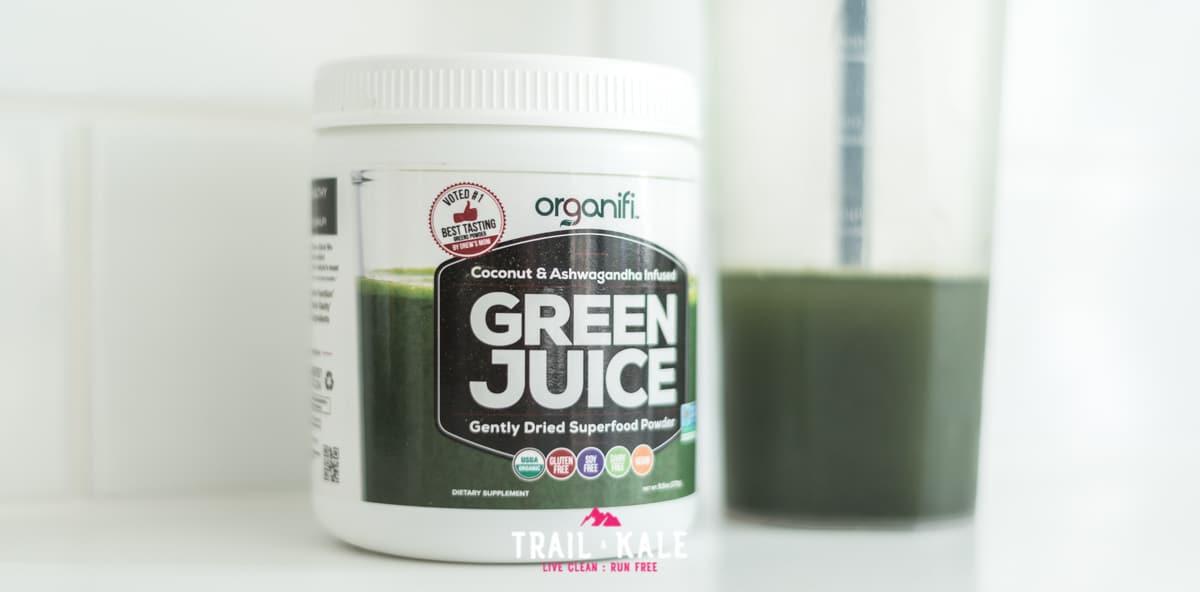 Organifi Green Juice review Trail Kale wm 5