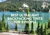 best ultralight packpacking tents for 2 people trail and kale web 2