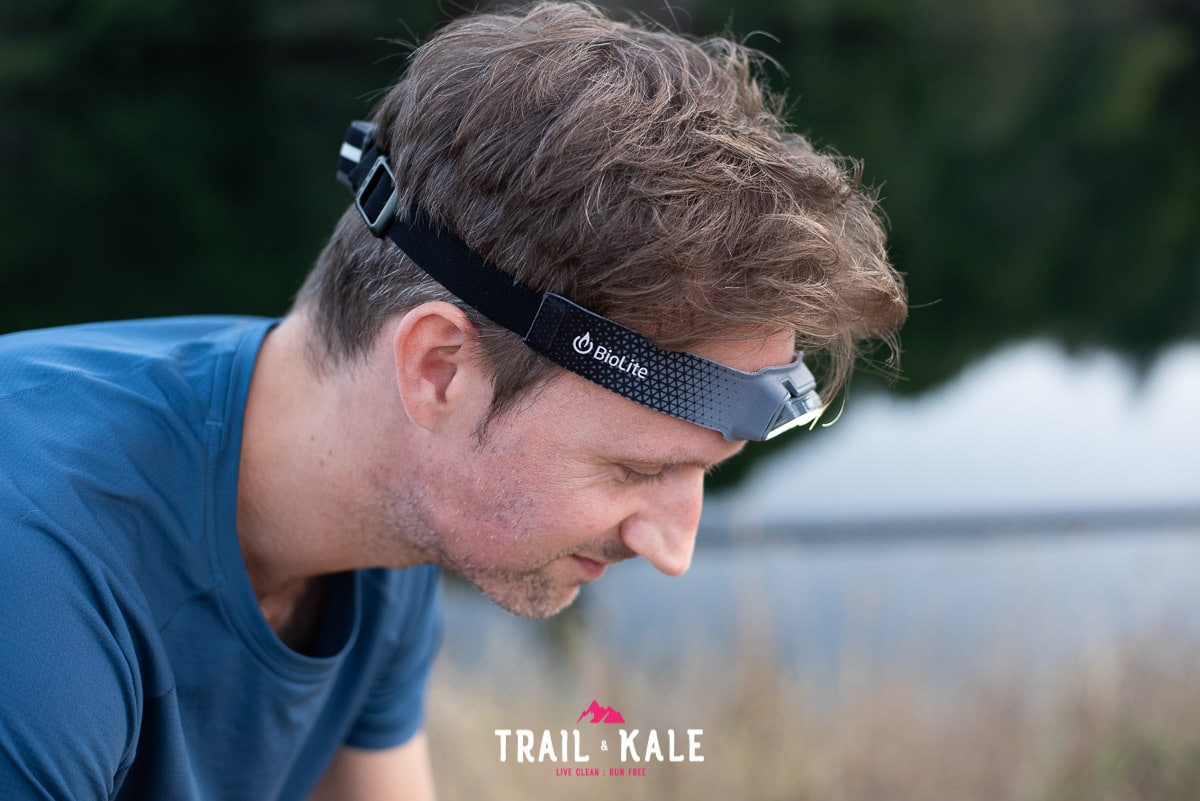 BioLite Headlamp 330 review trail running trail and kale wm 12