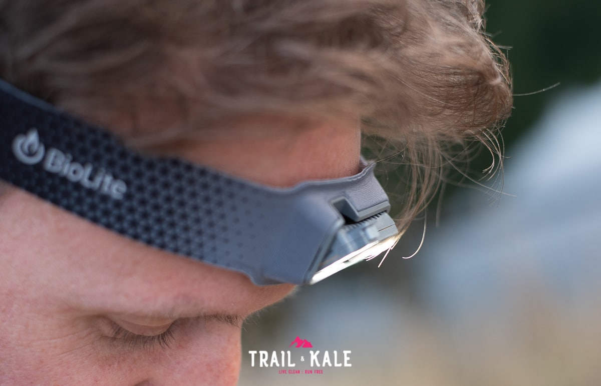 BioLite Headlamp 330 review trail running trail and kale wm 13
