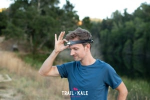 BioLite Headlamp 330 review trail running trail and kale wm 5