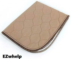 EZWhelp Washable Whelping Mat and Puppy Pad Adventure Pup Essentials Trail and Kale