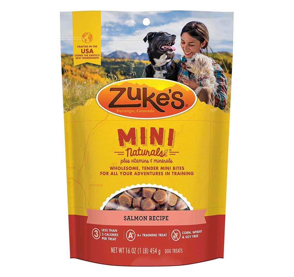 Zukes Mini Naturals Dog Treats Adventure Pup Essentials Trail and Kale