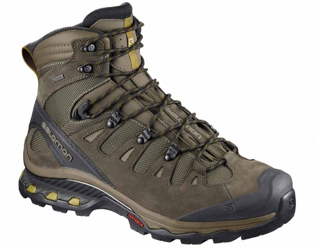 Salomon QUEST 4D 3 GTX best hiking boots trail and kale 2