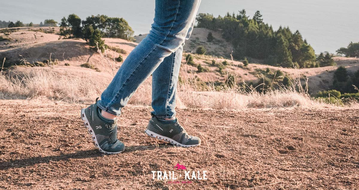On Cloud Terry Womens review trail and kale wm 1