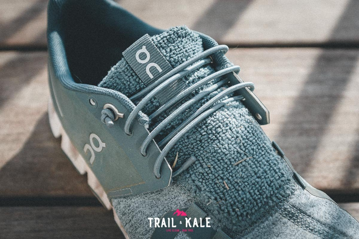 On Cloud Terry Womens review trail and kale wm 10