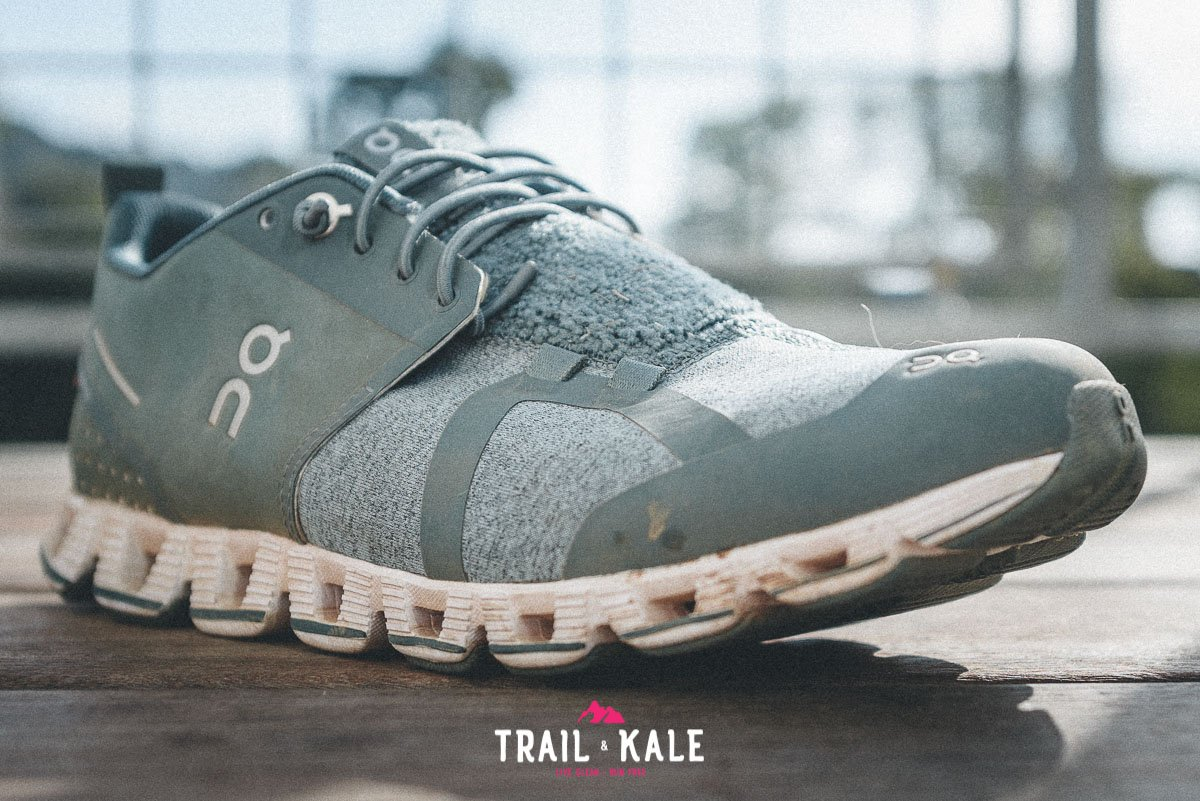 On Cloud Terry Womens review trail and kale wm 4