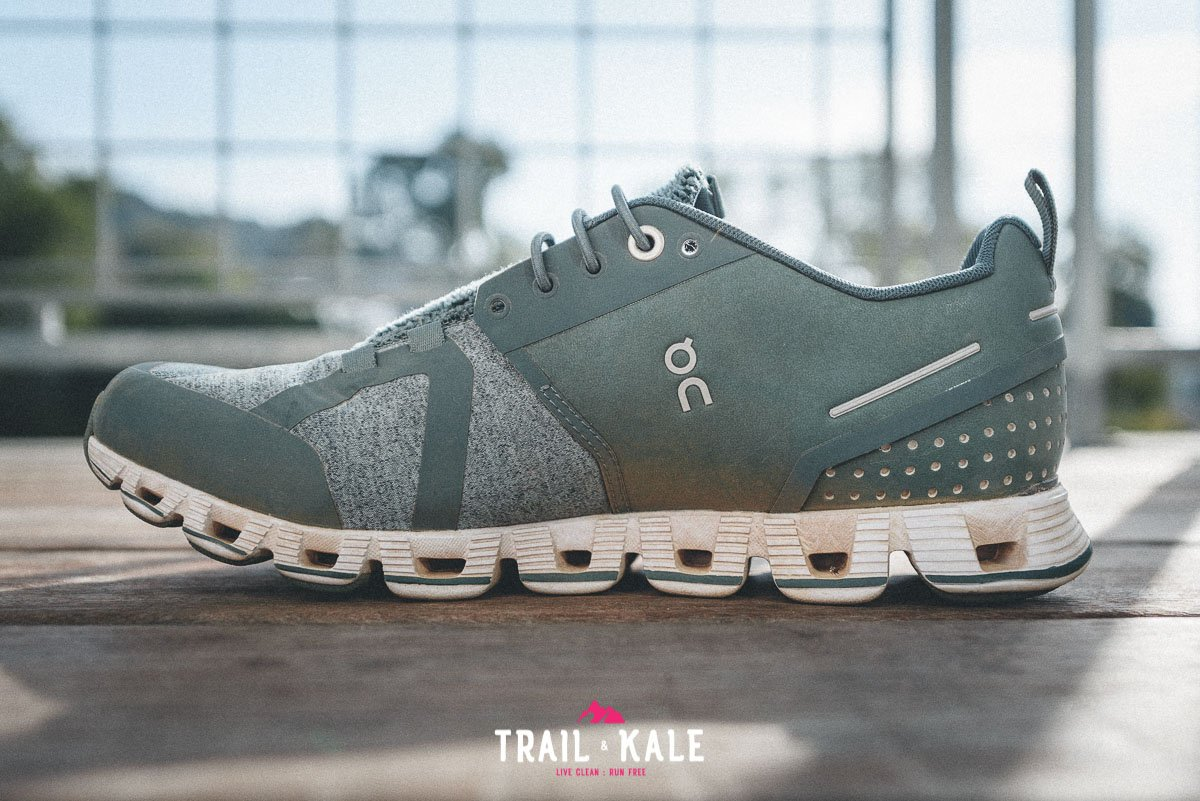 On Cloud Terry Womens review trail and kale wm 6