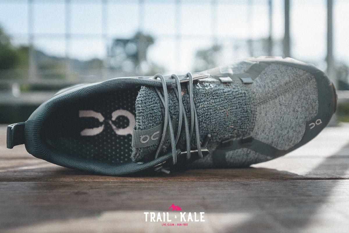 On Cloud Terry Womens review trail and kale wm 8