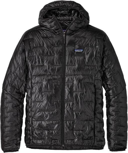 Patagonia Micro Puff Insulated Hoodie Mens trail and kale