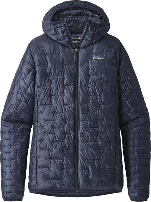 Patagonia Micro Puff Insulated Hoodie Womens trail and kale