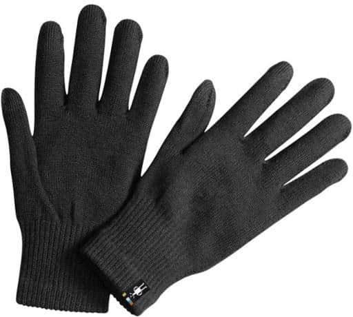 Smartwool Liner Tech Compatible Gloves trail and kale