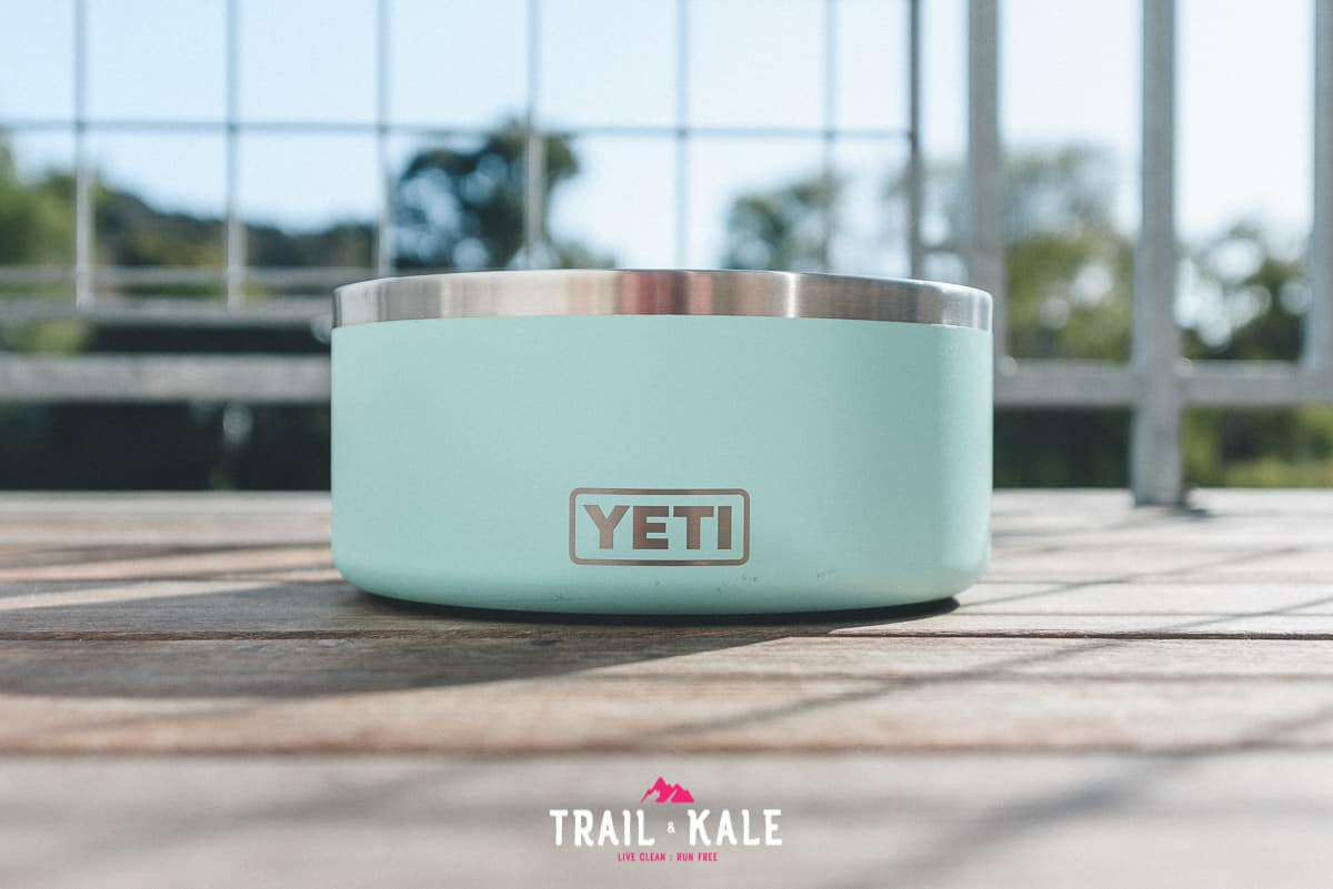 YETI Boomer Dog Bowl Review trail dogs trail and kale wm 4