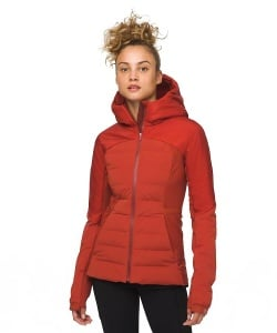 Lululemon Down For It All Jacket Trail and Kale - Lululemon gifts for runners