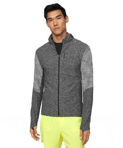 Lululemon Surge Warm Full Zip Trail and Kale