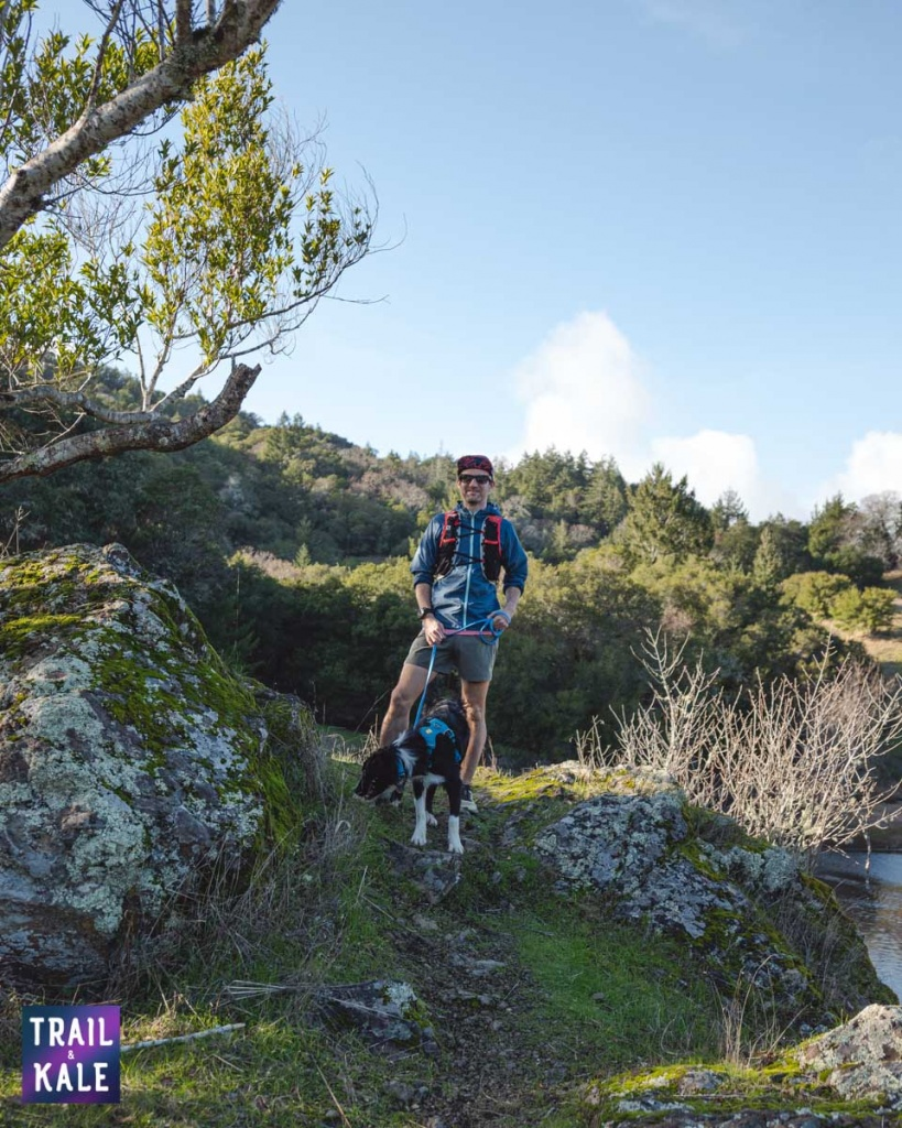Trail running with your dog guide