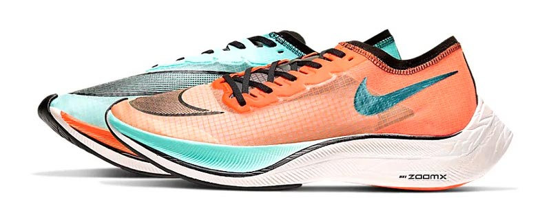 Nike zoomx vaporfly next percent running shoe trail and kale