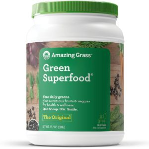 Amazing Grass Green Superfood trail and kale
