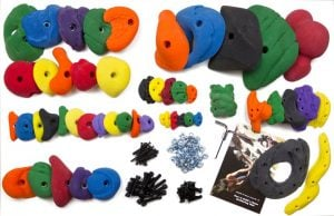 Climbing Holds Best Garage Gym Equipment for Runners Trail and Kale