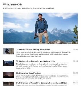 Jimmy Chin Masterclass - things to do while social distancing