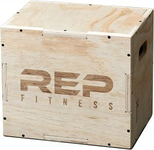 Plyo Box Best Garage Gym Equipment for Runners Trail and Kale