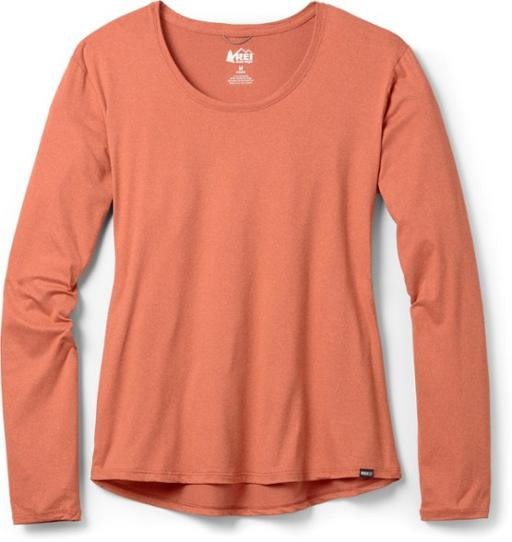REI Co op Sahara Long Sleeve T Shirt Womens REI Co op Sale Womens Clothing Trail and Kale