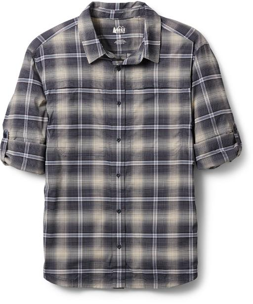 REI Co-op Men's Clothing for Spring - Versatile Plaid Shirt