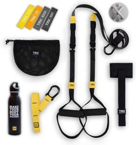 TRX GO Bundle Suspension Trainer Best Home Gym Equipment for Runners Trail and Kale 2